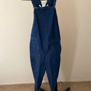 denim jumpsuit\overalls